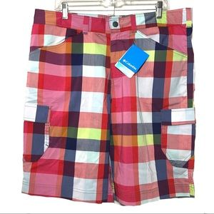 Columbia Men's Colorful Cargo Shorts 36